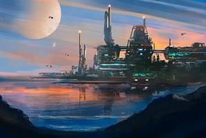 Alpha Dawn by dustycrosley