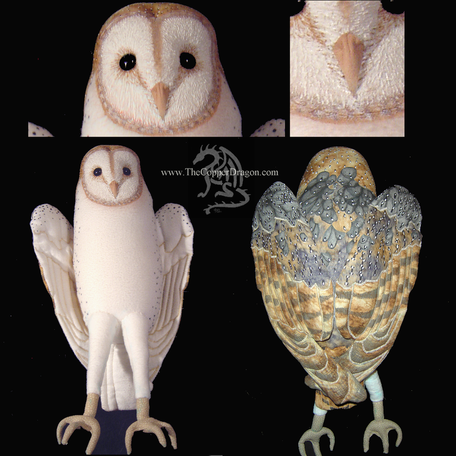 Jareth Plush Barn Owl Complete By TheCopperDragon2004 On