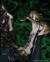 Nagini's Daughter by TheCopperDragon2004