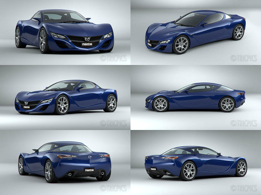 Mazda RX9 2012 Concept WIP5 By The IC ...
