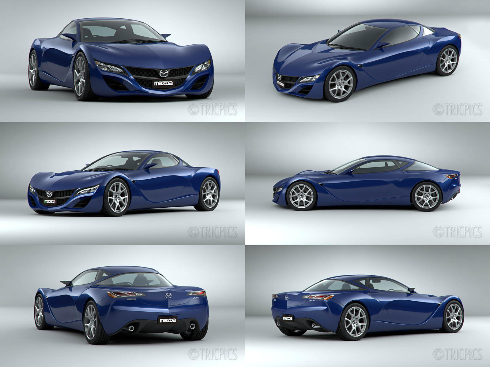 Mazda RX9 2012 Concept WIP5 by The-IC