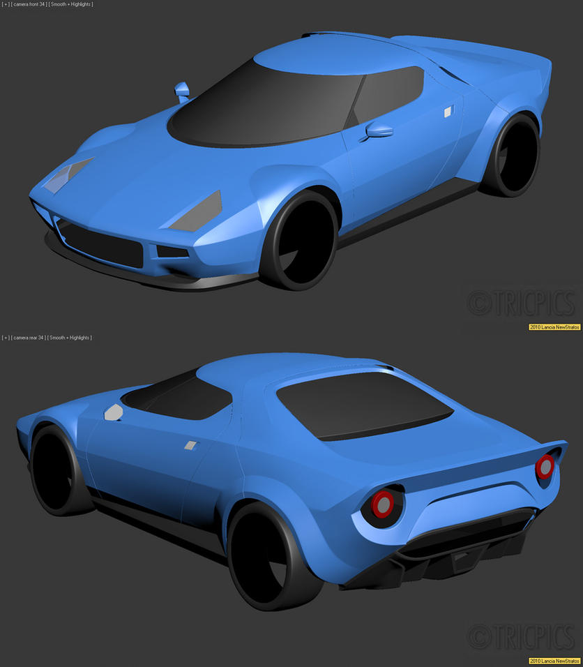 2010 Lancia Stratos WIP1 by The-IC on DeviantArt