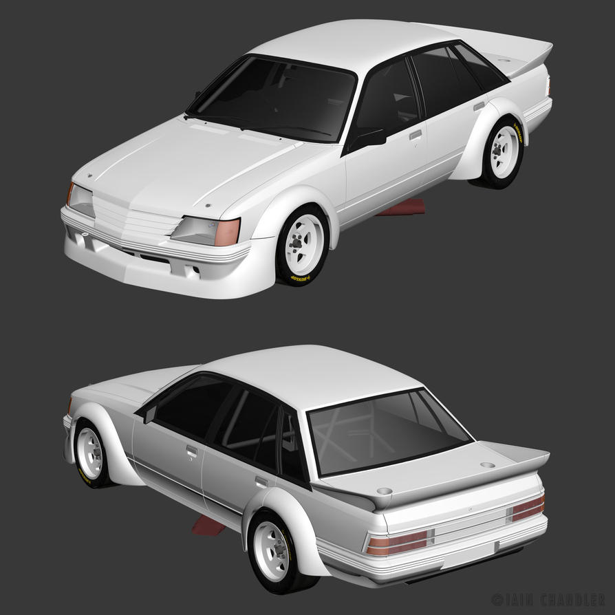 '84 Holden VK Commodore WIP2 By The-IC On DeviantArt