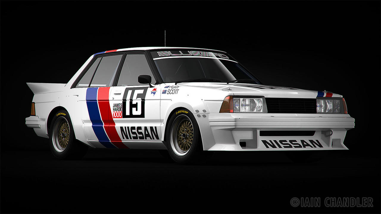 Nissan Bluebird Turbo GrpC WIP4 by The-IC