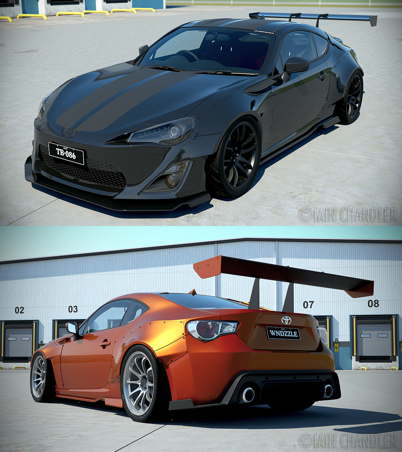 toyota gt86 wip 17 39 rocket bunny 39 by the ic on deviantart. Black Bedroom Furniture Sets. Home Design Ideas
