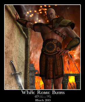 While Rome Burns for Hector Himeros