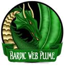 Bardic Web Plume by SenaRe