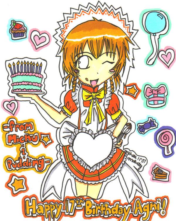 Happy Birthday Airyu. by Unichi