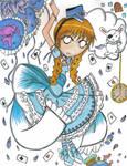 Lolita-chan in Wonderland.