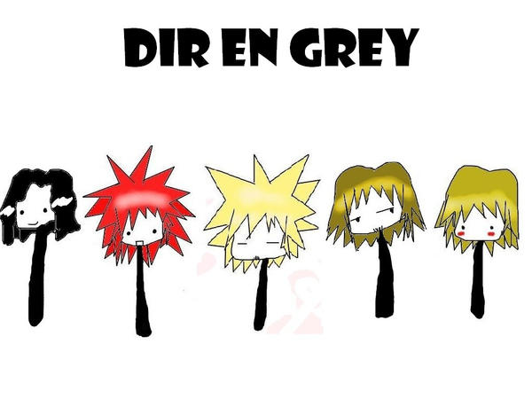 Dir en grey chibi wallpaper 8D by Unichi