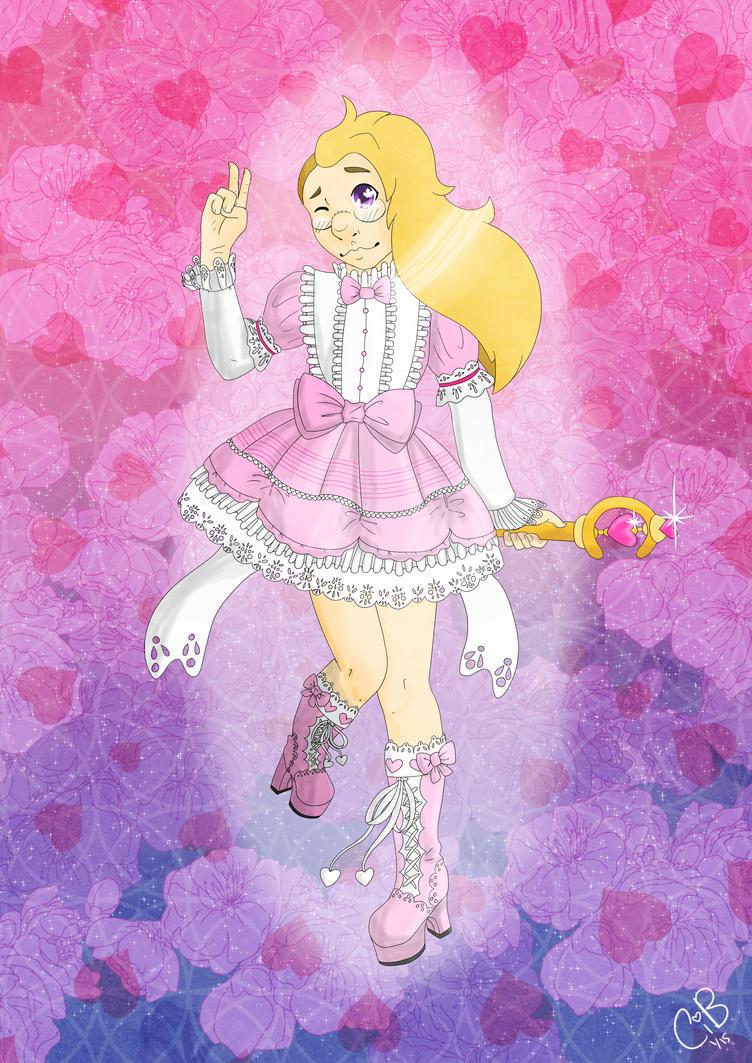 Pinky Pinky Fleur Transform! by KibaWhiteWarrior
