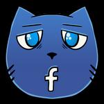 FlameCat - Facebook Cat Icon
