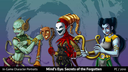 Mind's Eye: Character Portraits 3 by migs-abarintos