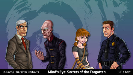 Mind's Eye: Character Portraits 2 by migs-abarintos