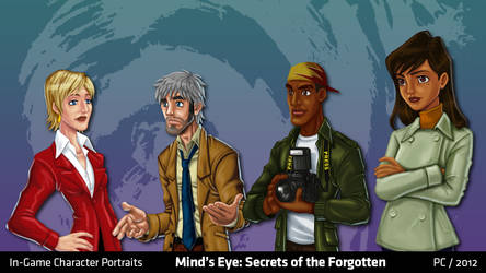 Mind's Eye: Character Portraits by migs-abarintos