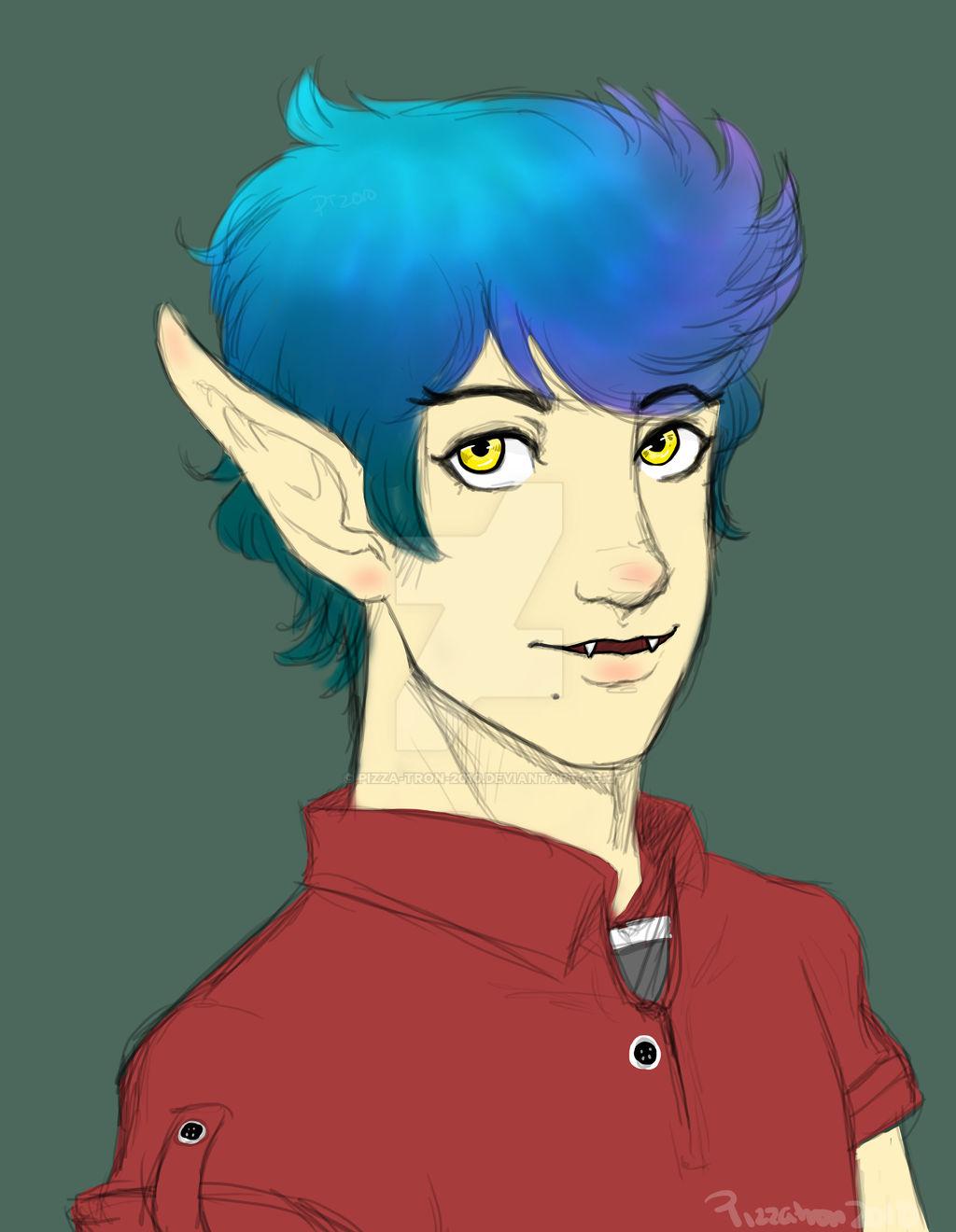 (ADOPTABLE)  Kit The Vampire Boy [CLOSED]