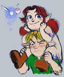 Carry me, Fairy boy
