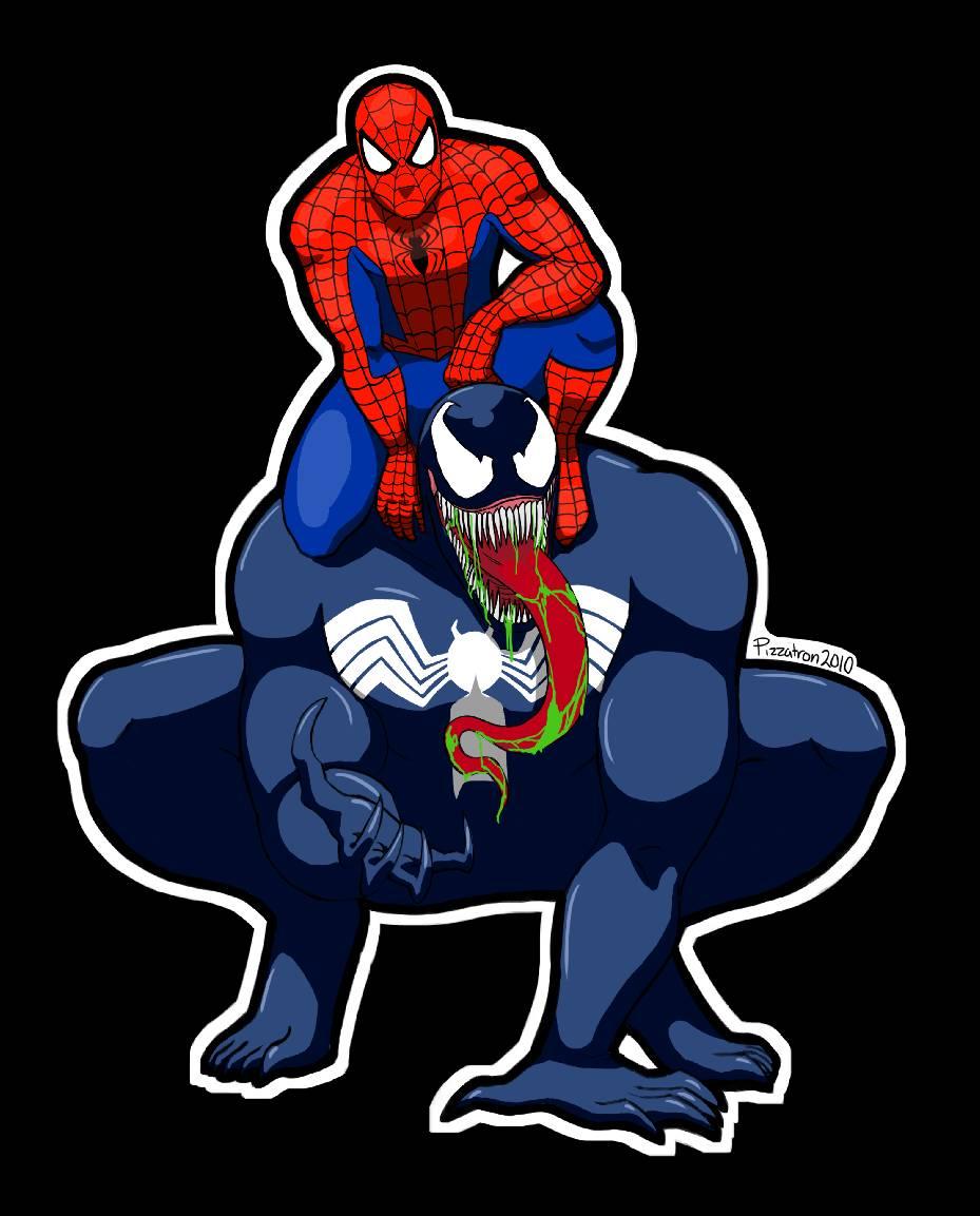 Spidey and Venom sticker
