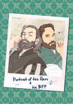 Galavant - Portrait of the Hero and his BFF