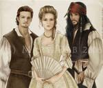 Pirates of the Caribbean trio