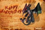 Happy Birthday Magpie by xXLegendary-FuryXx