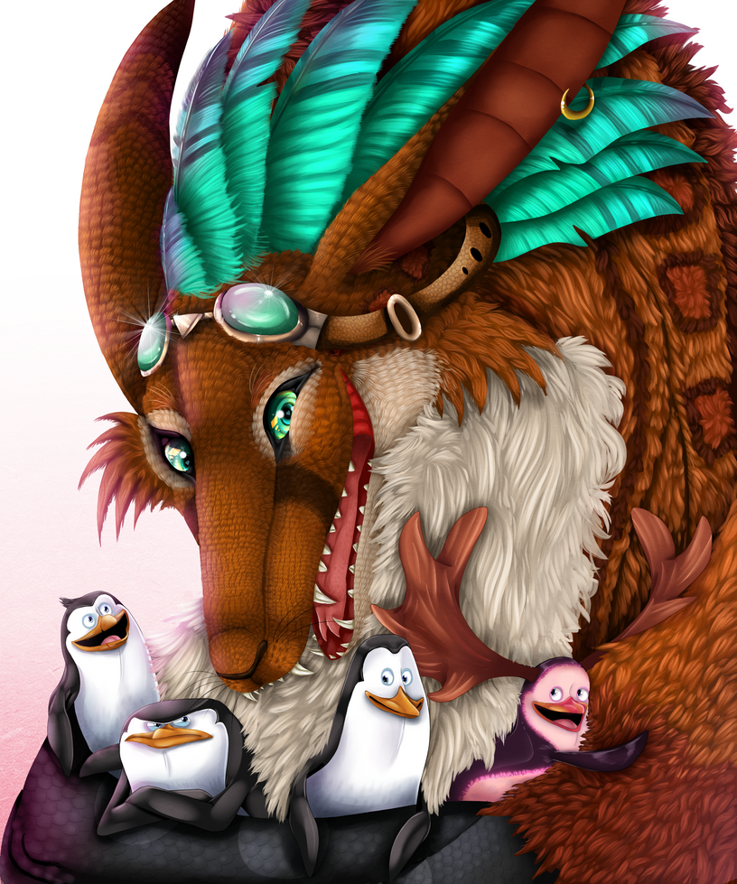.:Hello Penguins:. by xXLegendary-FuryXx