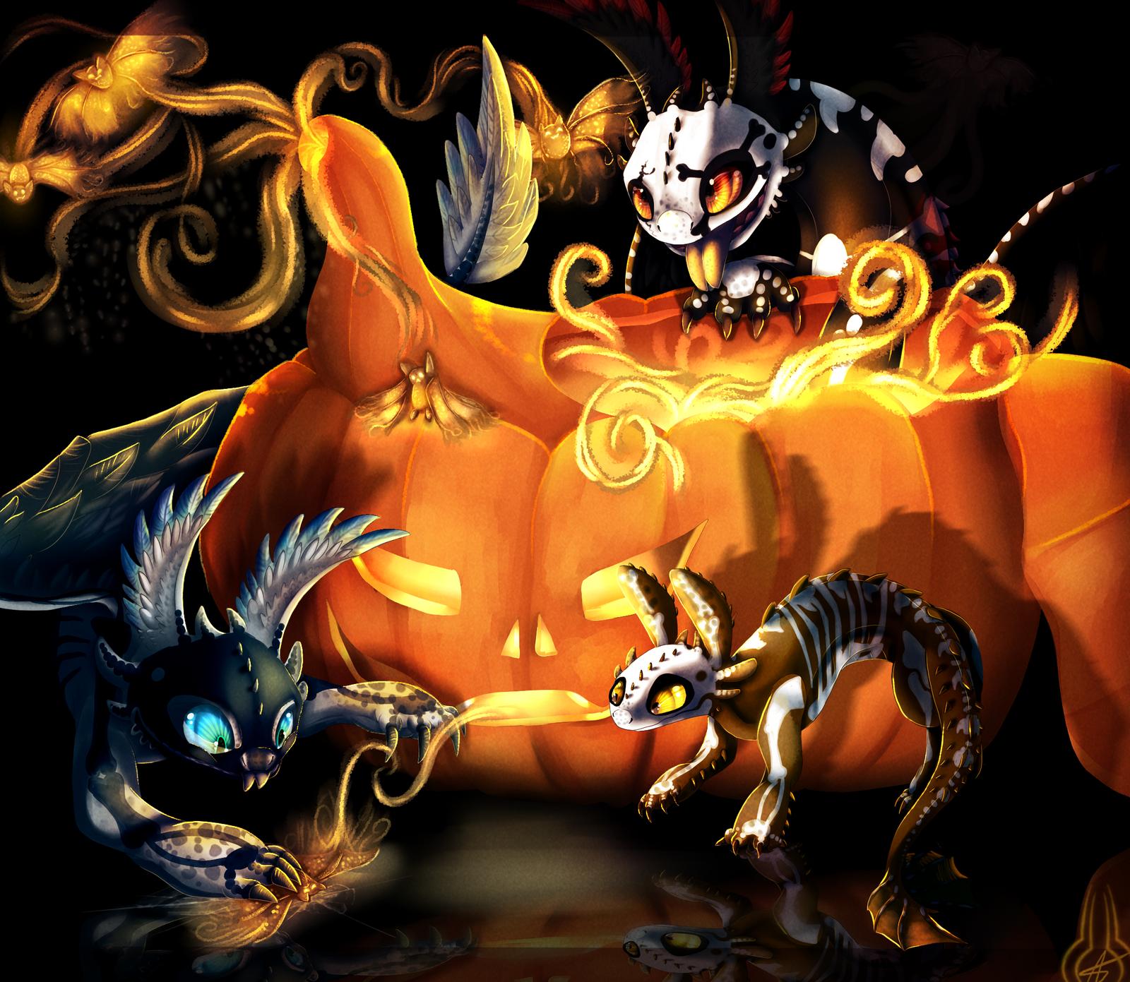 .:Magic Halloween:. by xXLegendary-FuryXx
