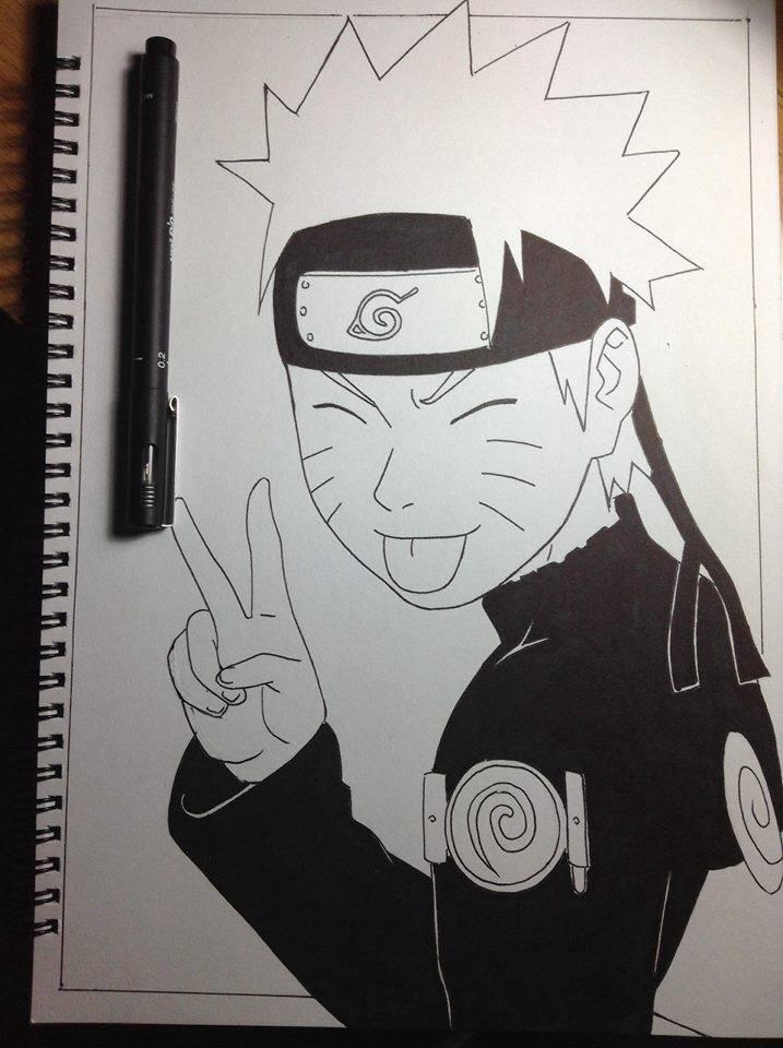 Uzumaki Naruto by muzamilmasrom