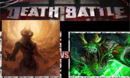 Death Battle Tirek vs Kai by LopDrieuna