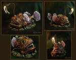 The angler fish, lamp, my handmade
