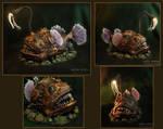 The angler fish, lamp, my handmade