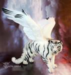 Fantasy White Tiger, custom