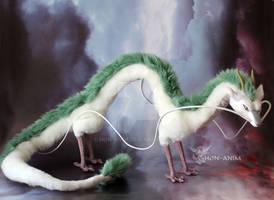 Dragon Haku, from Spirited Away