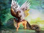 Fantasy Winged Fox