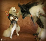 Polar Fox and his Griffin