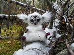 White Little Fantasy Animal