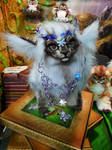 White Fantasy Animal Queen