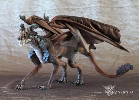 Winged Dragon, OOAK, SOLD