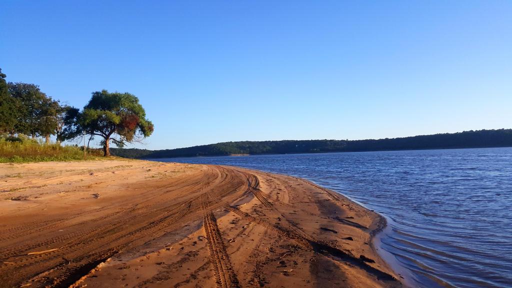 Shoreline Keystone Lake by SharonIllumined