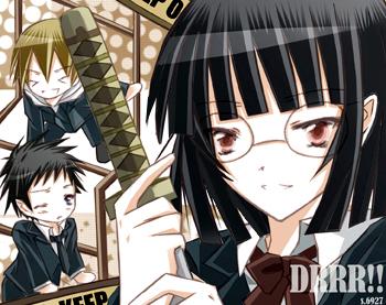 DRRR_ Mikado,Kida,Anri2 by Shi-Ri-Kyuu