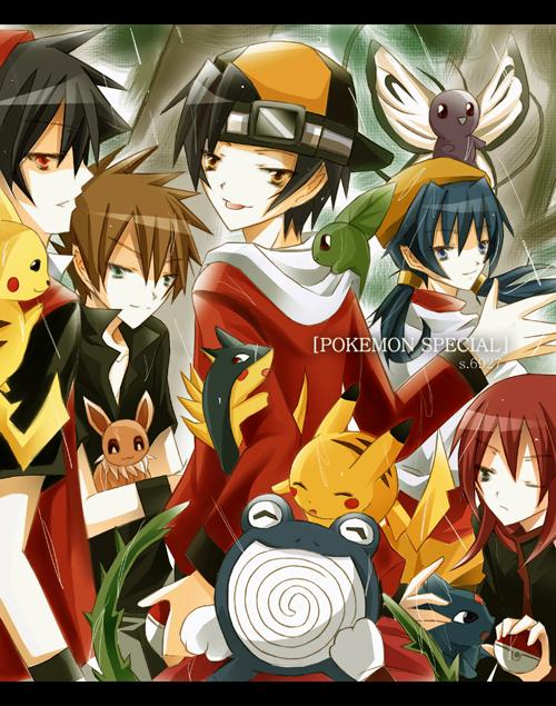 Pokemon Special by Shi-Ri-Kyuu