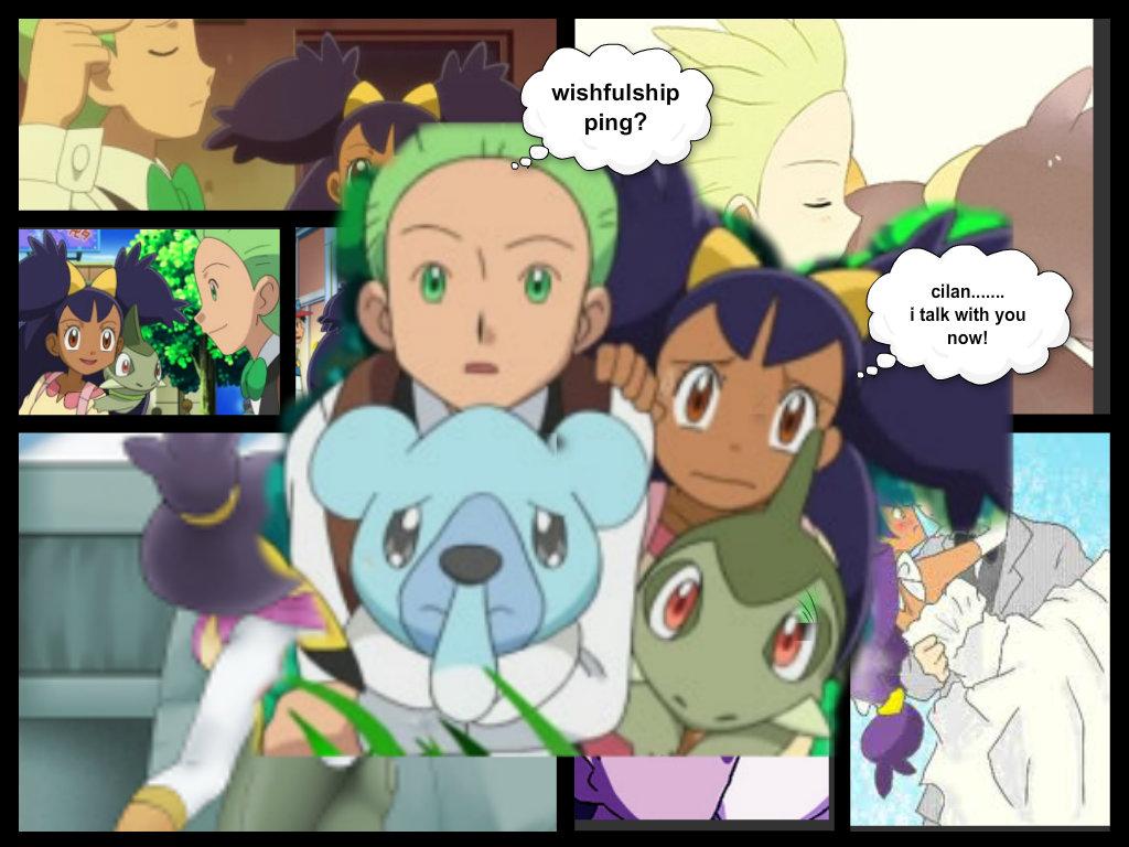 Pokemon Cilan And Iris Kissing Images | Pokemon Images