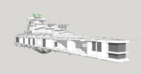 Star Battleship BB56 95160-02 WIP