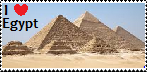 Egypt stamp by Canadian-cookie