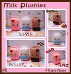 Milk Plushies