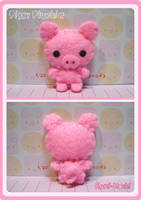 Piggy Plushie by littlepaperforest