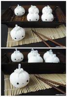 Chinese Dumplings by littlepaperforest