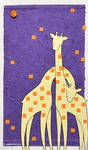 Giraffe Collage by littlepaperforest