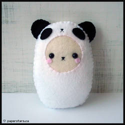 Panda Suit by littlepaperforest