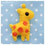 Giraffe Plushie 2.0